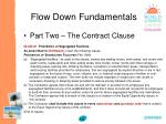 flow down fundamentals14