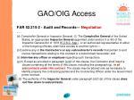 gao oig access87