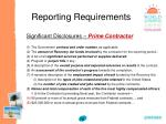 reporting requirements79