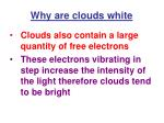 why are clouds white32