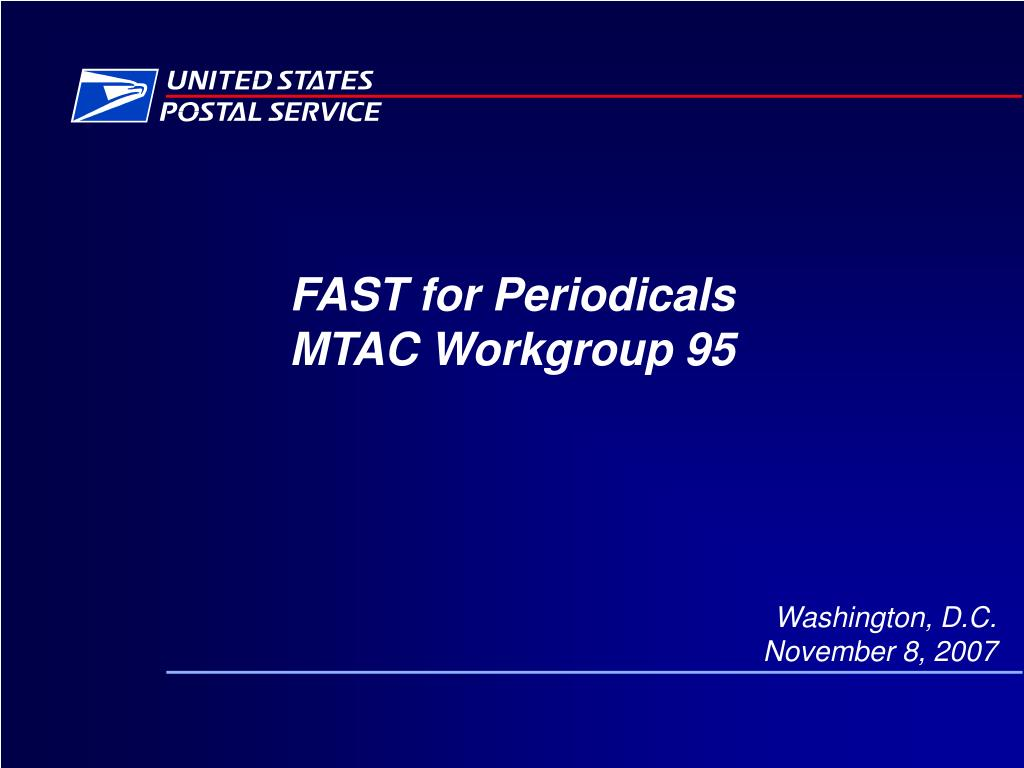 fast for periodicals mtac workgroup 95 l.