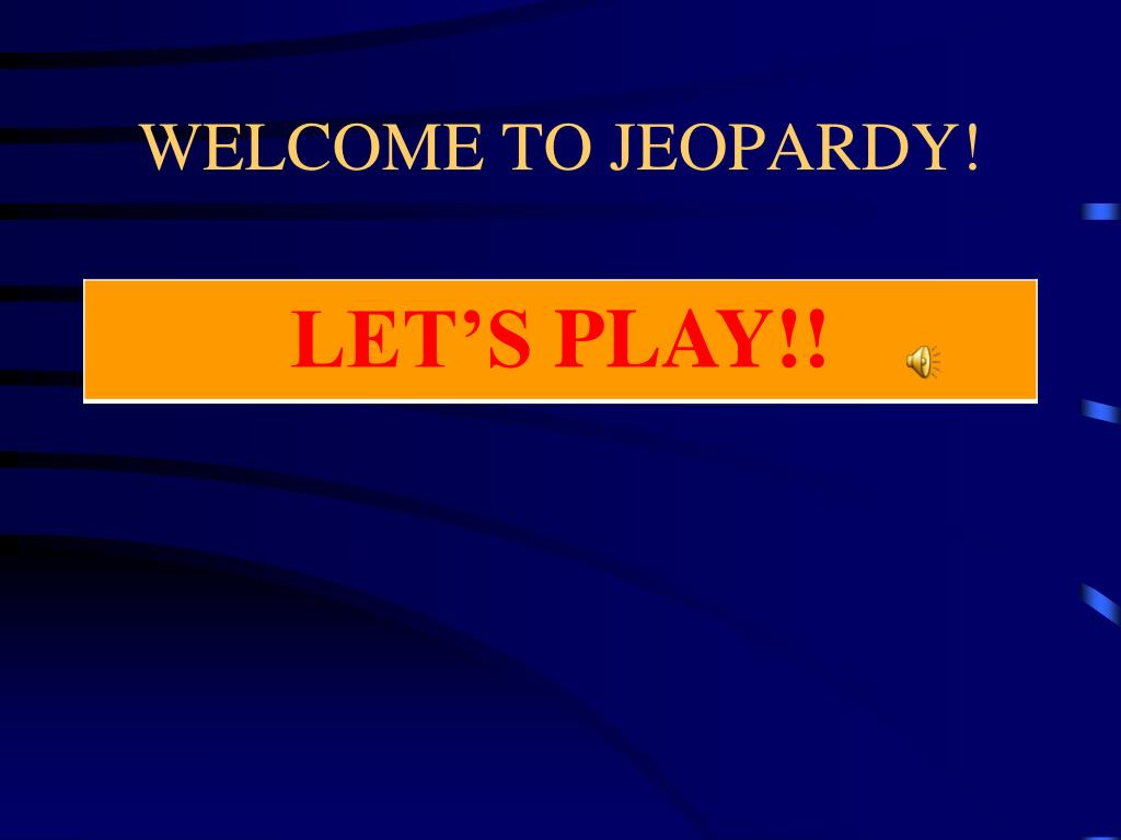 welcome to jeopardy l.