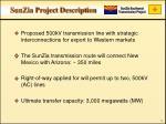 sunzia project description