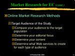 market research for ec cont33