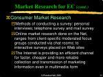 market research for ec cont34
