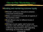 one to one marketing cont16