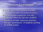 student involvement33