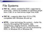 file systems9