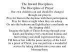 the inward disciplines the discipline of prayer36