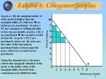 exhibit 6 consumer surplus