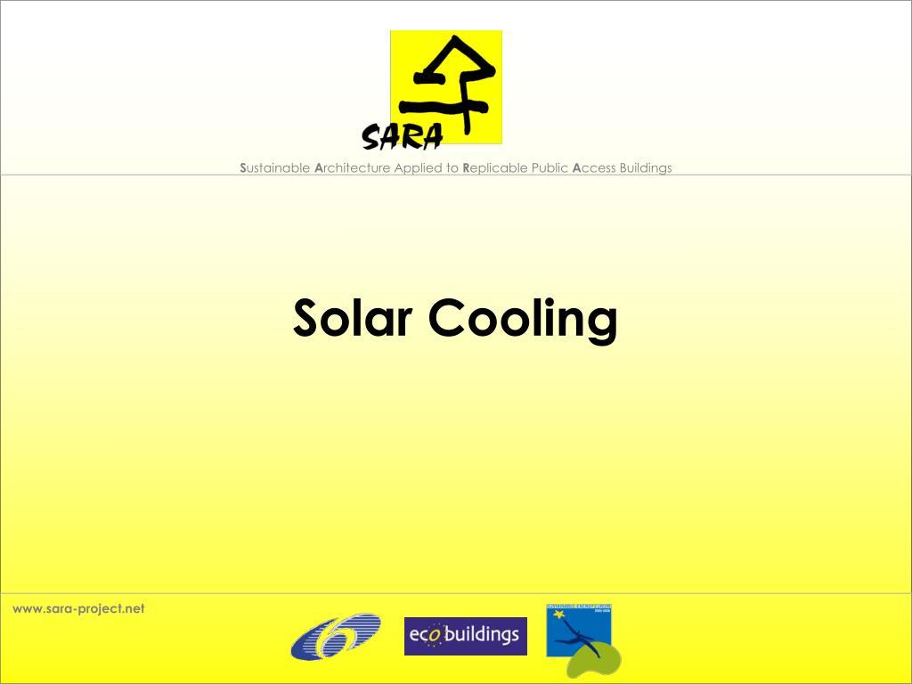 solar cooling l.