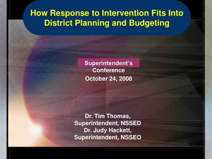 superintendent s conference october 24 2008 n.