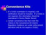 convenience kits35
