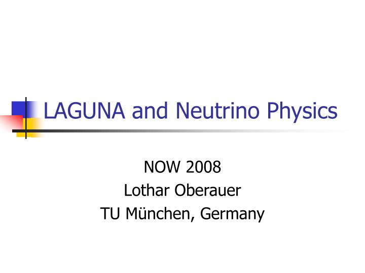 laguna and neutrino physics n.