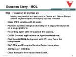 success story mol