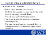 how to write a literature review39