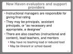 new haven evaluators and support providers