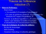 th orie de l inf rence inductive 7
