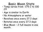 basic moon stats17