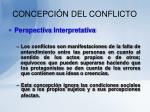 concepci n del conflicto9