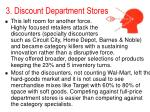3 discount department stores14