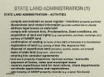 state land administration 1