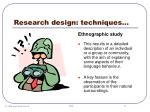 research design techniques27