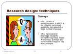 research design techniques30