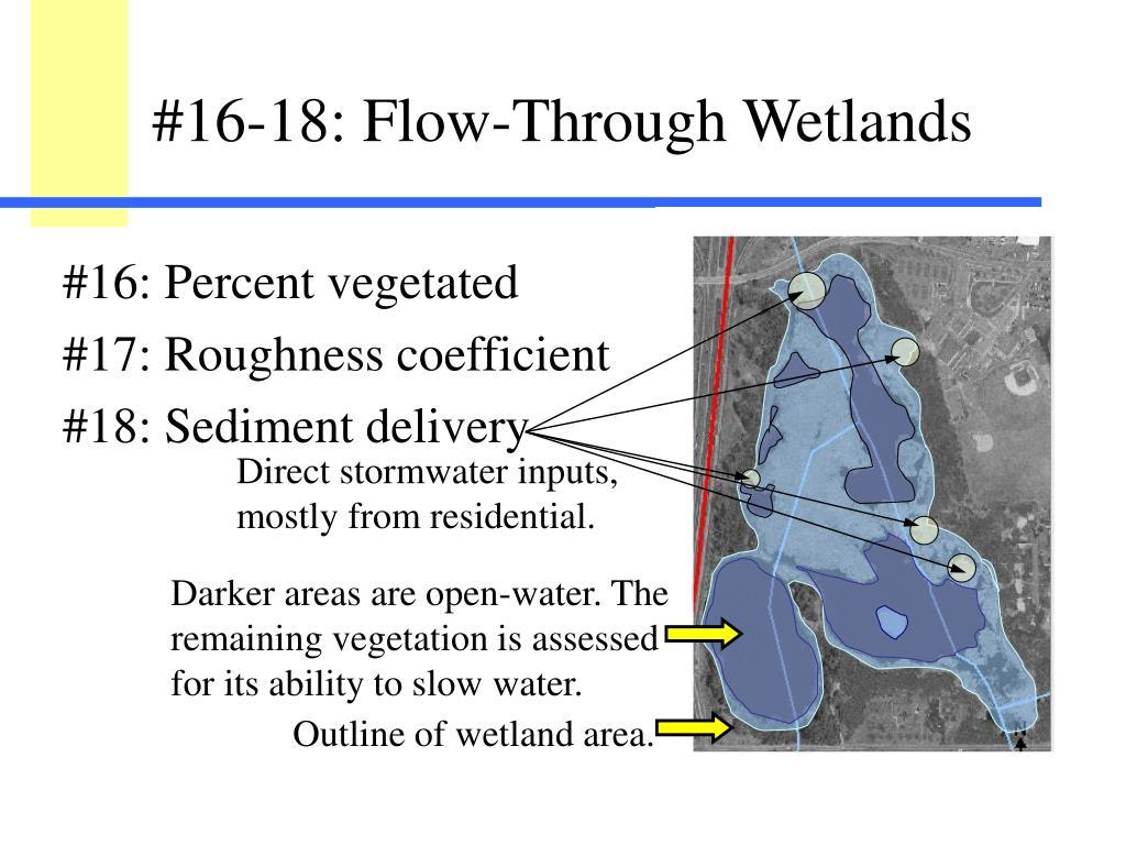 #16: Percent vegetated