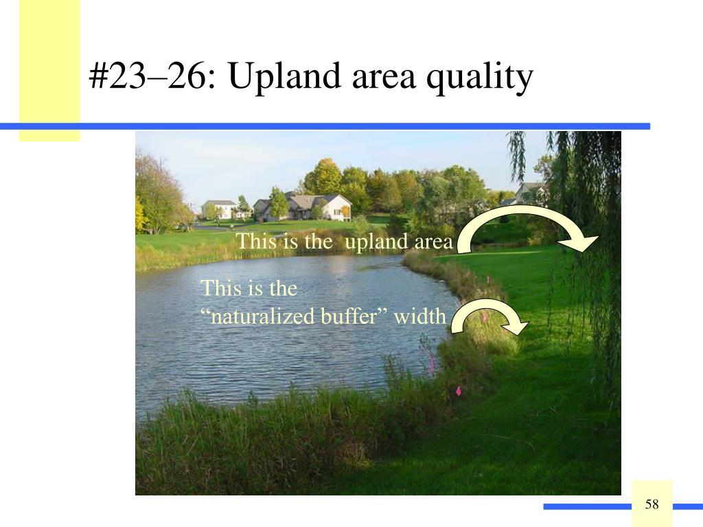 Estimate buffer width