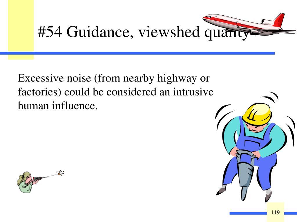 Guidance: Wetland Viewshed.