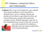 57 guidance commercial effects and wetland quality