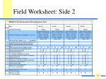 field worksheet side 2