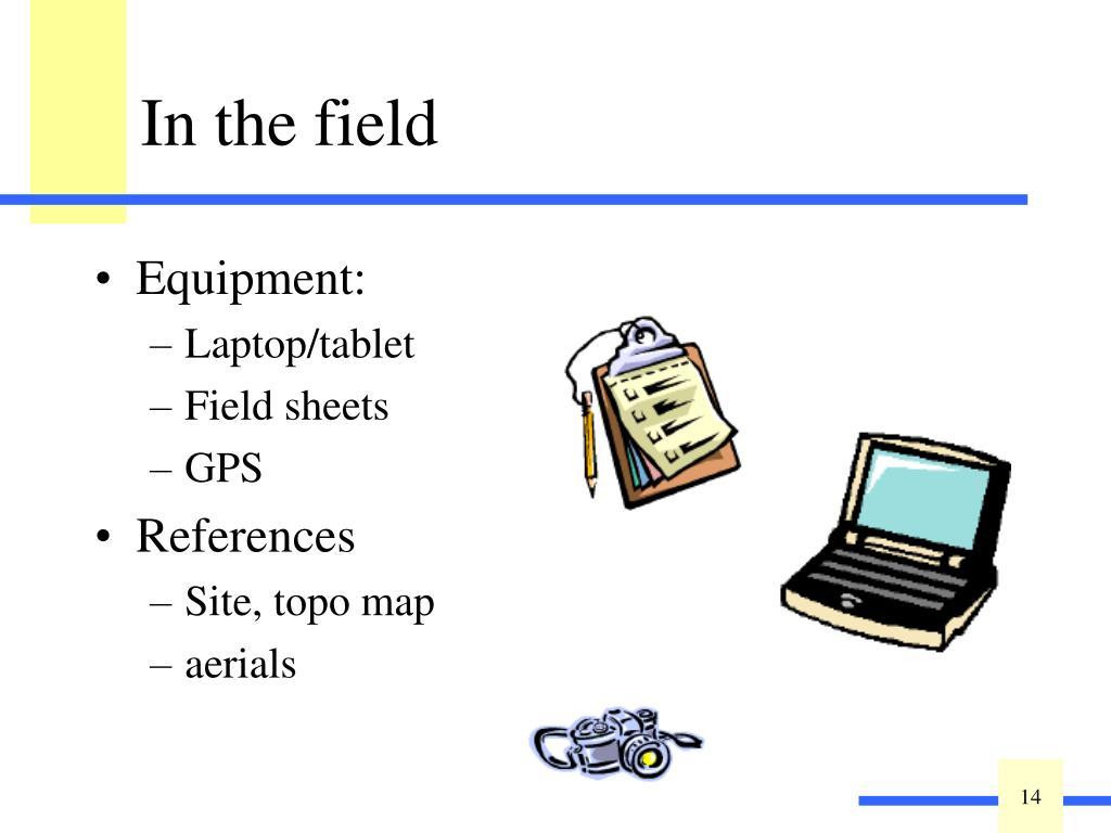 Equipment: