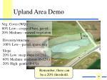 upland area demo