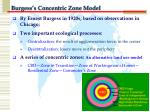 burgess s concentric zone model