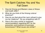 the spirit catches you and you fall down59