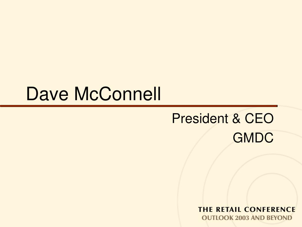 dave mcconnell