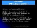canamex nafta super corridor24