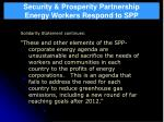 security prosperity partnership energy workers respond to spp38