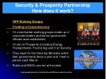 security prosperity partnership how does it work