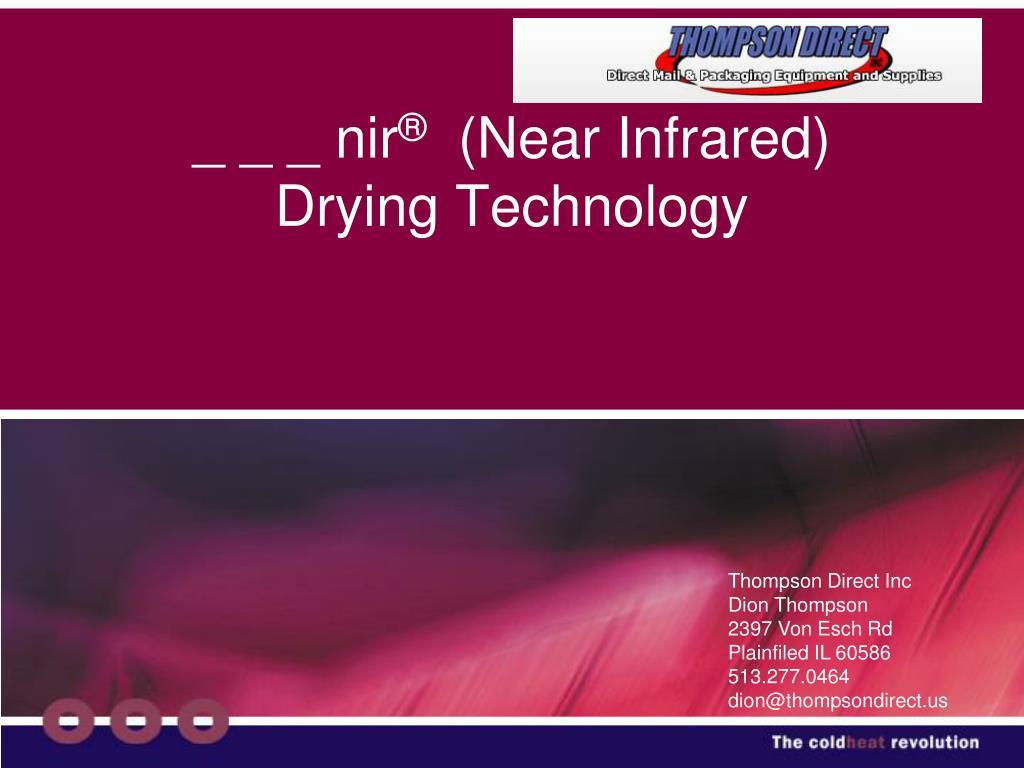 nir near infrared drying technology l.