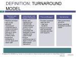 definition turnaround model