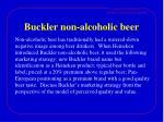 buckler non alcoholic beer