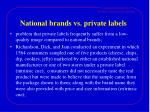 national brands vs private labels