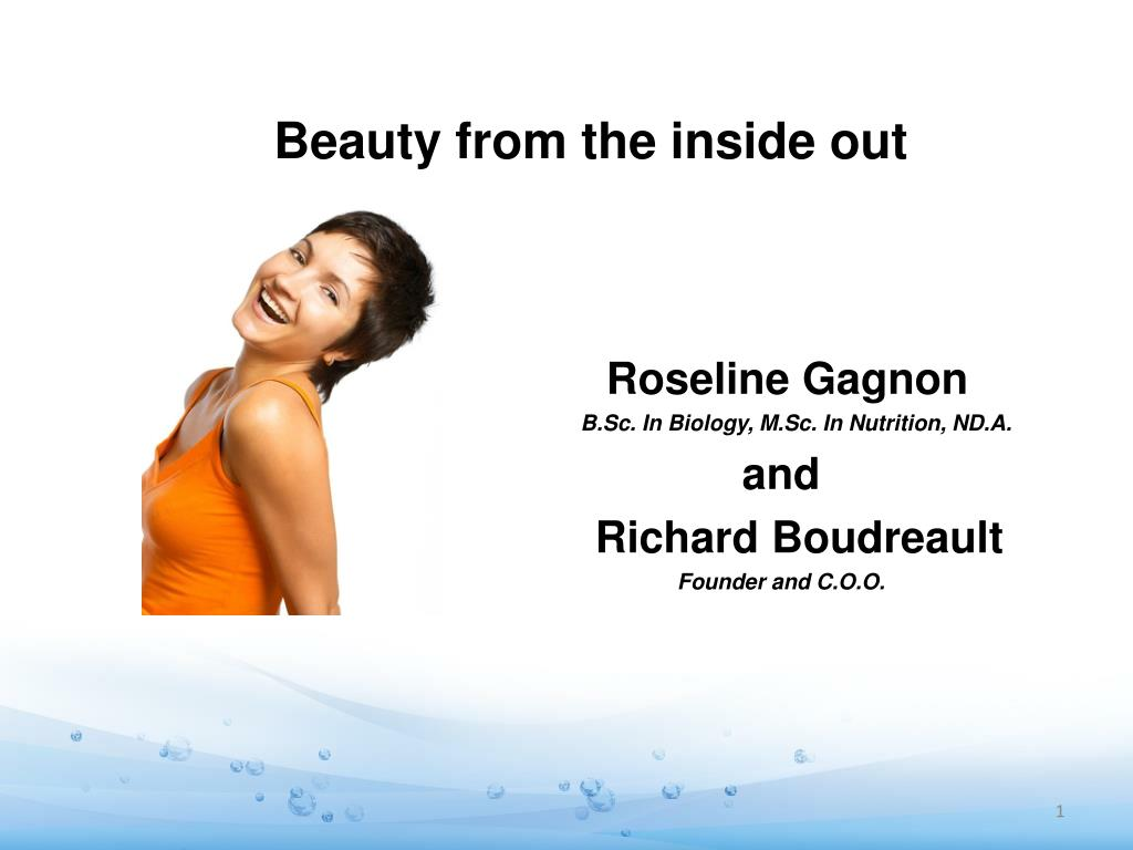 beauty from the inside out l.