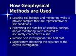 how geophysical methods are used16