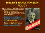 hitler s early foreign policy