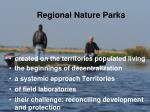 regional nature parks