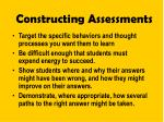 constructing assessments